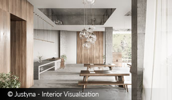 Justyna Interior Visualization